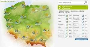 """Prognoza pogody na najbliższy tydzień. """"Rodegang"""" przyniesie ocieplenie, w przyszły weekend nastąpi tąpnięcie"""