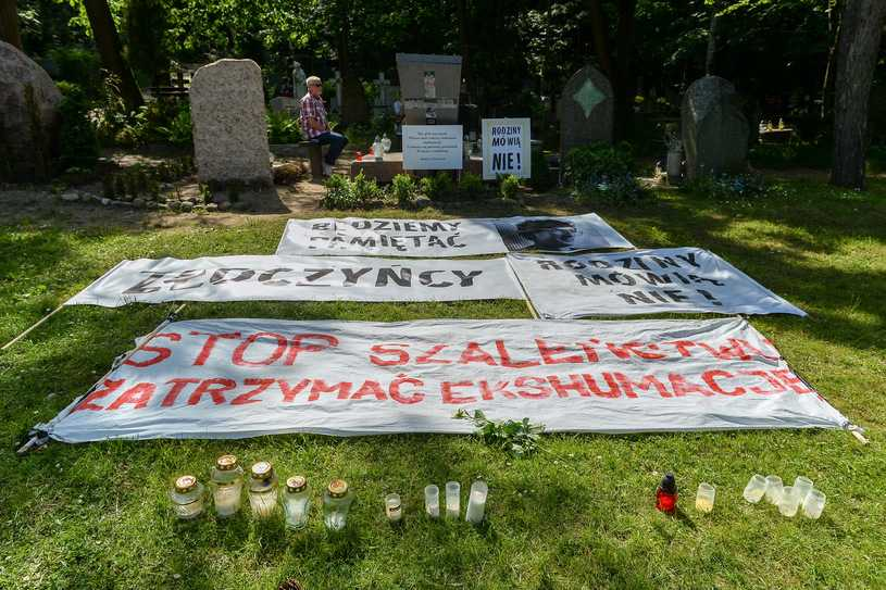 Wyrok w sprawie ekshumacji smoleńskich. Polska naruszyła prawa człowieka