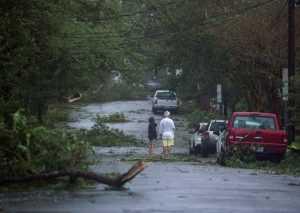 Huragan Florence uderzył w Karolinę Północną