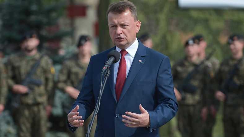 Szef MON Mariusz Błaszczak odwołuje generałów