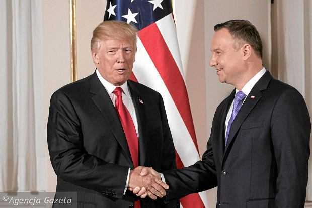 Eksperci o wizycie Andrzeja Dudy w Białym Domu: zdecydowanie za rzadko, a termin niefortunny