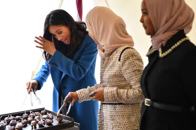 Meghan Markle pierwszy raz wygłosiła przemowę jako księżna! Harry był zachwycony