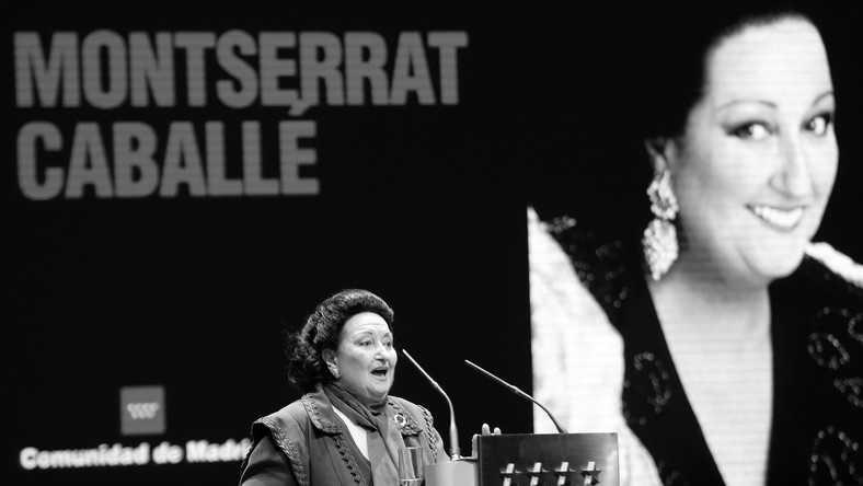 Nie żyje diva operowa Montserrat Caballe