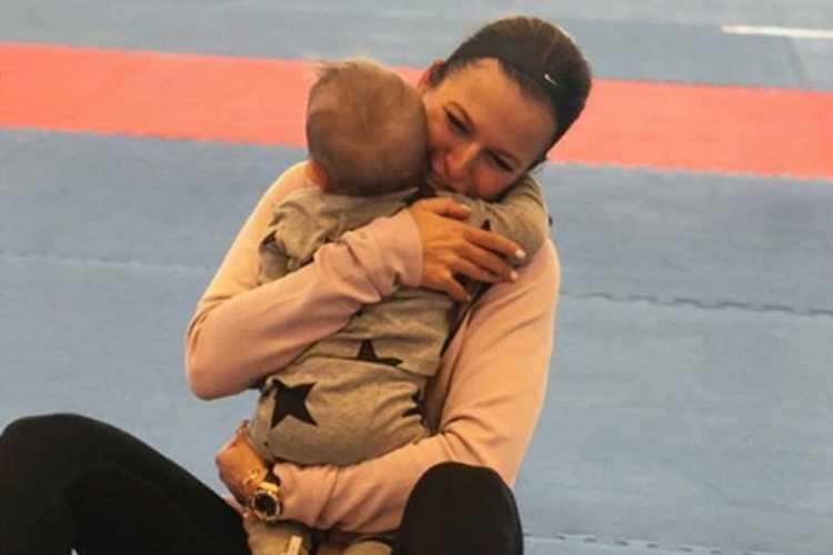 """Anna Lewandowska pochwaliła się uroczym wideo z Klarą: """"Moja tancereczka"""""""