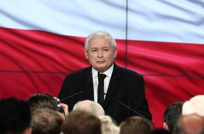 Jarosław Kaczyński: polexit. Kłamstwo. Kłamstwo. Kłamstwo