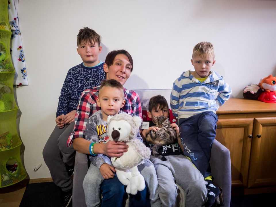 Odzyskałam swoich czterech synów