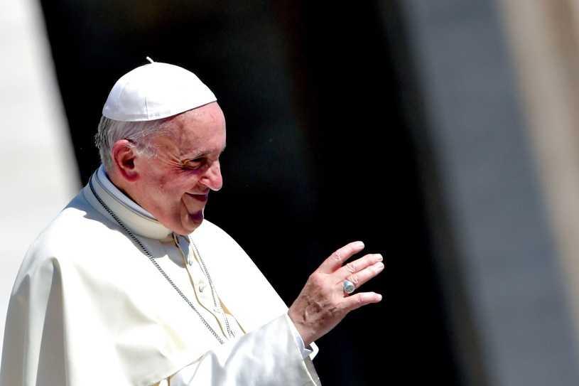 Papież Franciszek rozmawiał z Agatą Kornhauser-Dudą