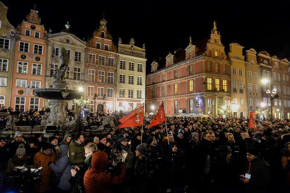Ten śpiew rozdzierał serca. Poruszające sceny w Gdańsku