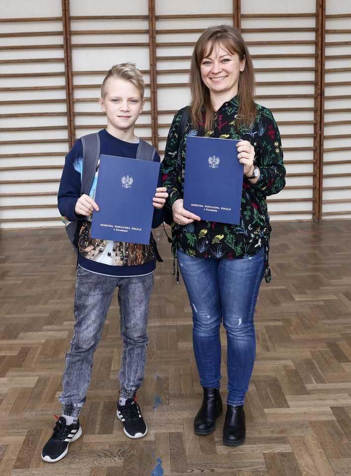 13-letni bohater z Żuromina
