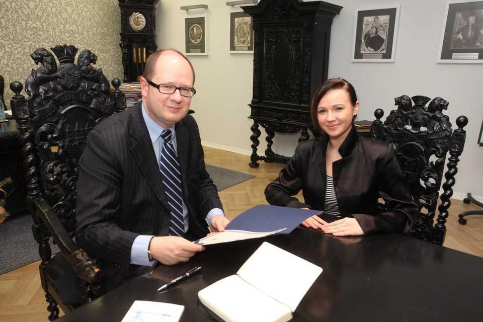 Ojciec Gracjanka: Prezydent Adamowicz nas uratował