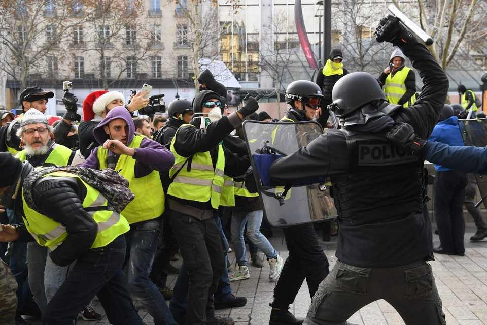Protest żółtych kamizelek dotarł do Polski