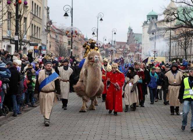 Największy w Polsce Orszak Trzech Króli przejdzie dziś ulicami Warszawy