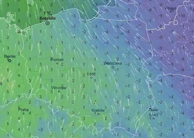 Prognoza pogody na weekend 26-27 stycznia. Będzie deszczowo i śnieżnie. Kierowcy, uważajcie