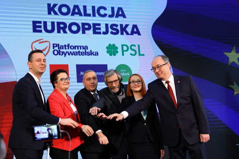 PO, PSL, Nowoczesna, SLD i Partia Zieloni zawarły koalicję
