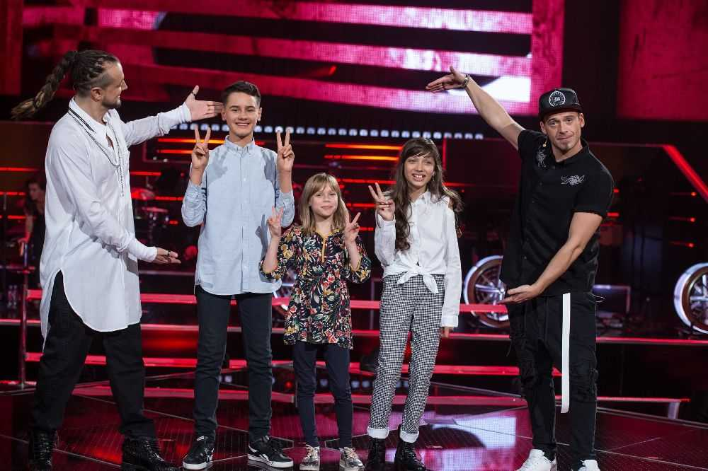 """""""The Voice Kids 2"""" BITWY 1. Baron i Tomson wybrali finałową trójkę swojej drużyny"""