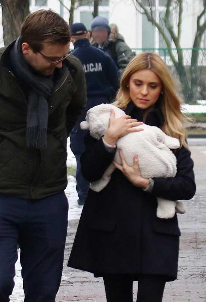 Pierwsze zdjęcia Kasi Tusk z dzieckiem