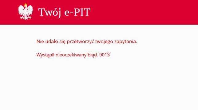 e-pity 2019 nie działa - AWARIA SYSTEMU! Co się stało? Kiedy będzie działać?