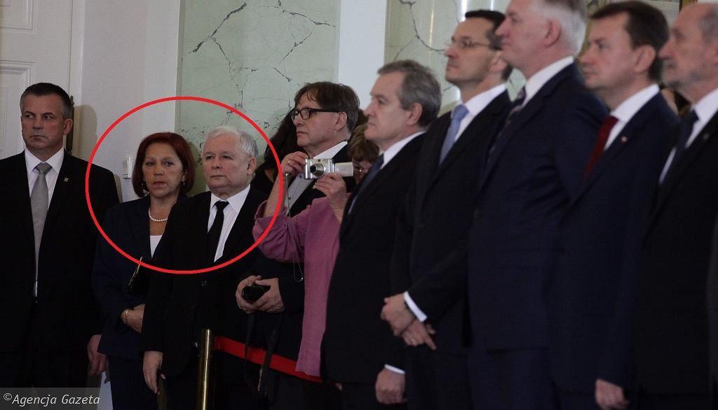 Barbara Skrzypek, czyli pani Basia od Kaczyńskiego, pracowała dla wysokich urzędników z PZPR