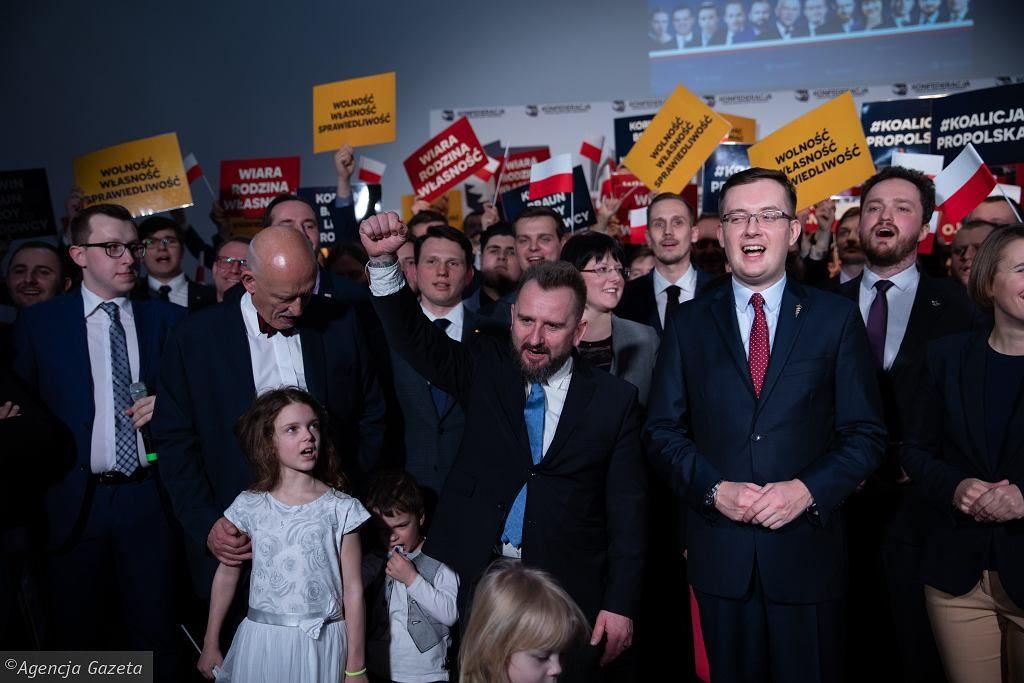 Powstała koalicja Korwina, Brauna, Liroya, Godek i Narodowców. Pójdą razem w wyborach do PE