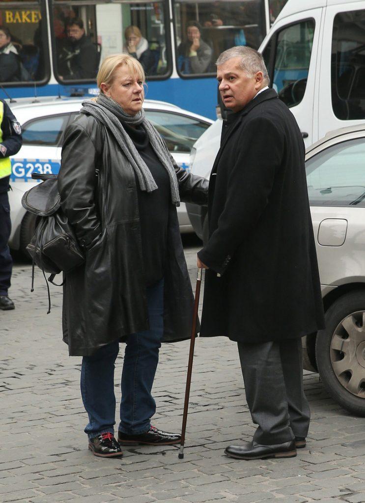 Krzysztof Globisz na planie filmowym. Gra... samego siebie