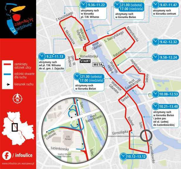 Kilkanaście tysięcy biegaczy wyruszy na trasę półmaratonu
