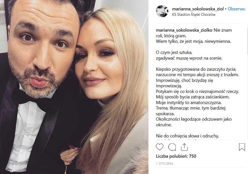Mateusz Ziółko na zdjęciach z przepiękną żoną. Jest tak śliczna, że odbiera mowę