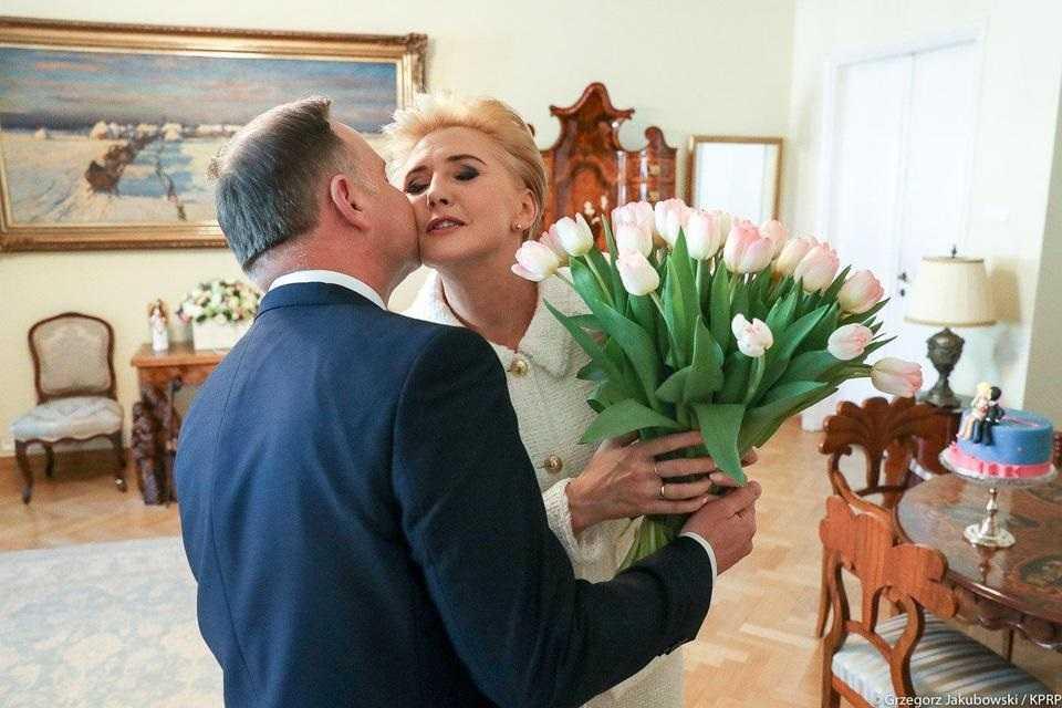 Urodziny pierwszej damy. Mąż zrobił jej niespodziankę