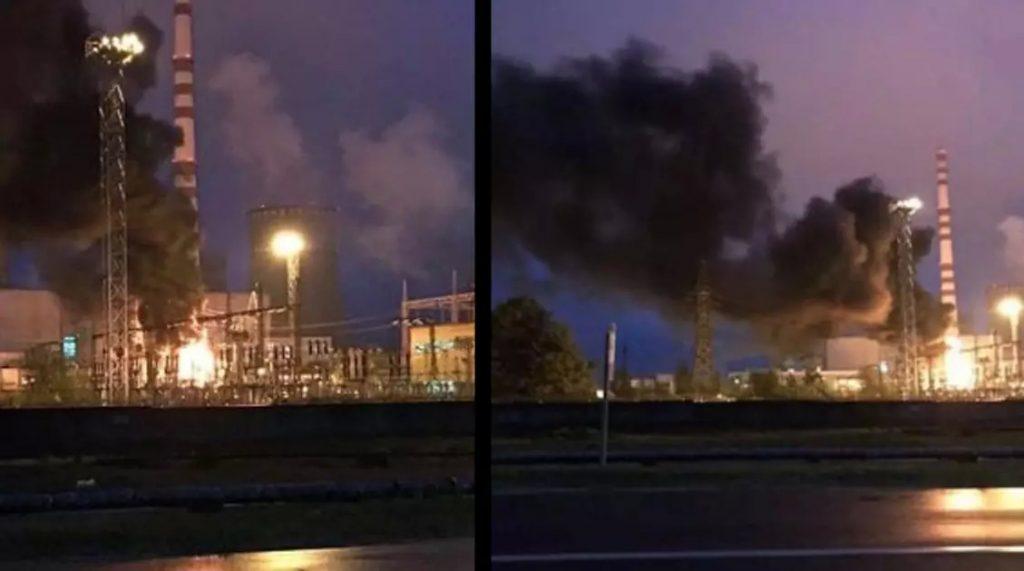 Pożar w Elektrowni Jądrowej na Ukrainie. Przez chwilę mieszkańcy wstrzymali oddech