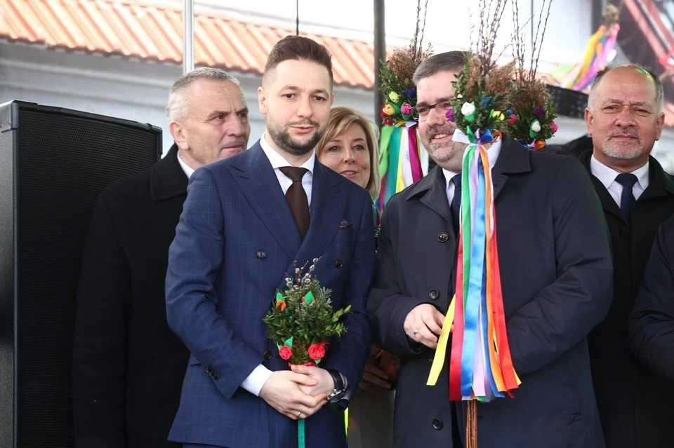 Niedziela palmowa w Lipnicy Murowanej. Obecni politycy PiS