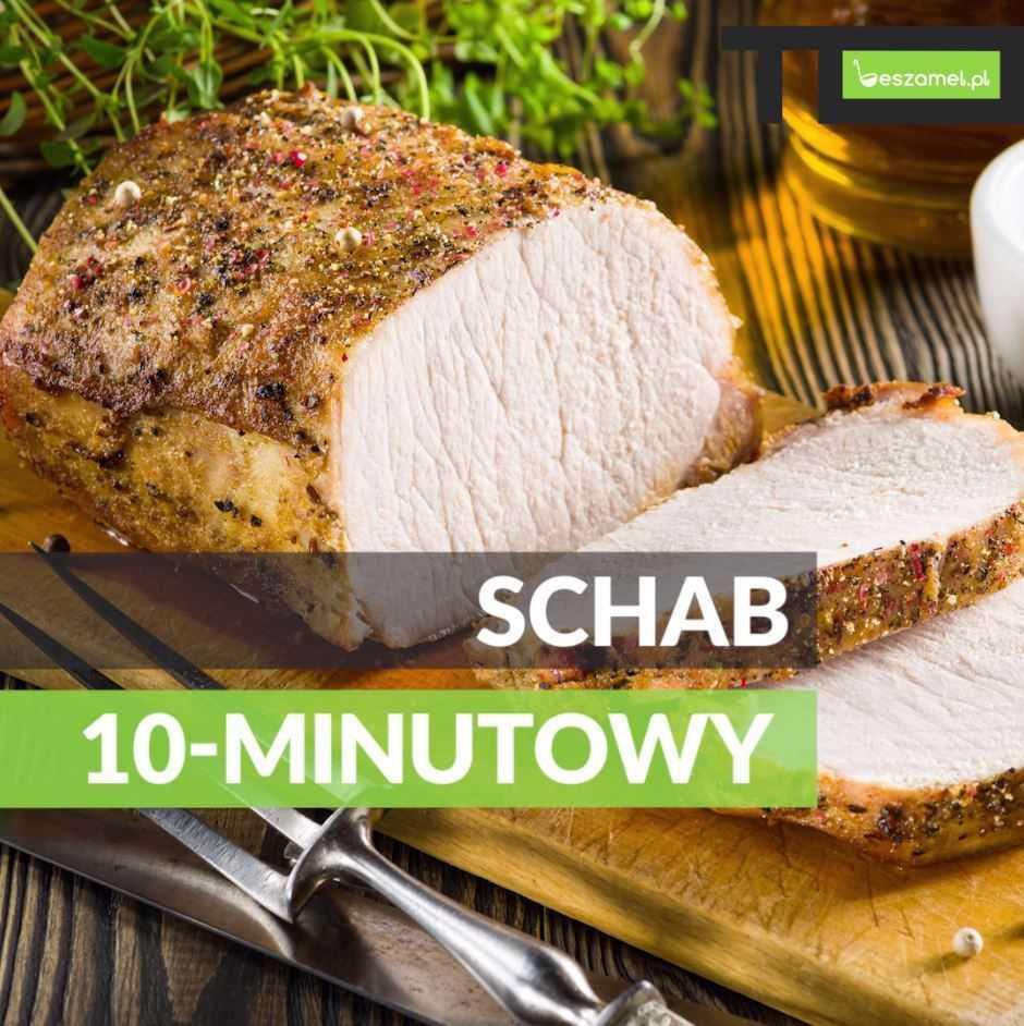 Schab 10-minutowy gotowany - dobry przepis