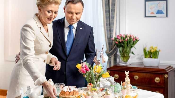 Wielkanoc 2019. Życzenia od pary prezydenckiej