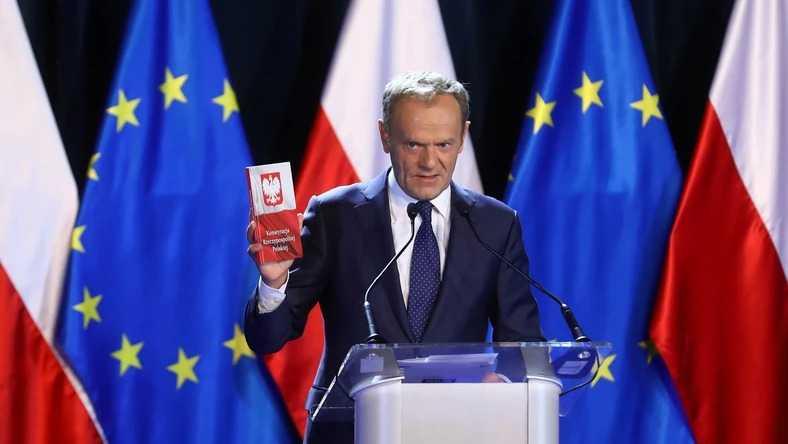Wystąpienie Donalda Tuska na Uniwersytecie Warszawskim