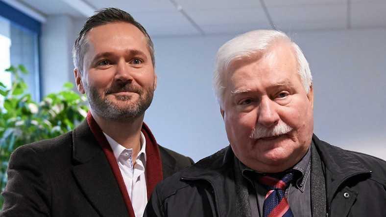 Lech Wałęsa namawia do głosowania na Jarosława Wałęsę: zostawiam syna na moim miejscu