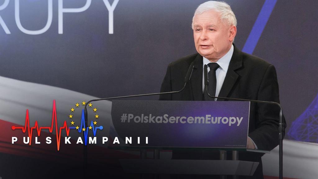 Eurowybory. Kaczyński: Czy chcecie państwo, żeby w Polsce były strefy, gdzie rządzi szariat?