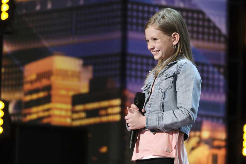"""""""Mam talent"""": Ansley Burns zachwyciła jurorów. 12-latka była o krok od odpadnięcia"""
