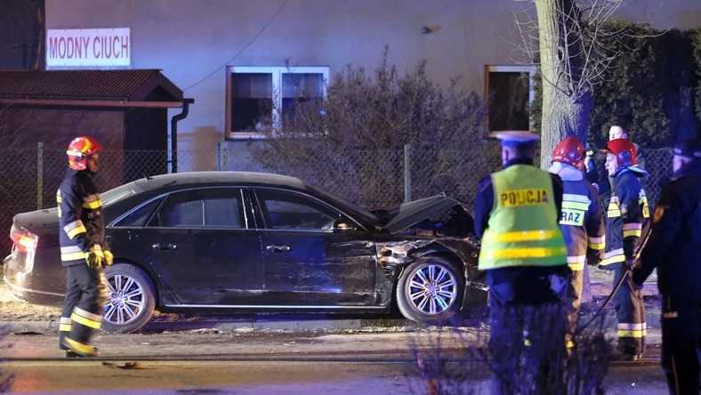 Wypadek Beaty Szydło w Oświęcimiu. Uszkodzone dowody