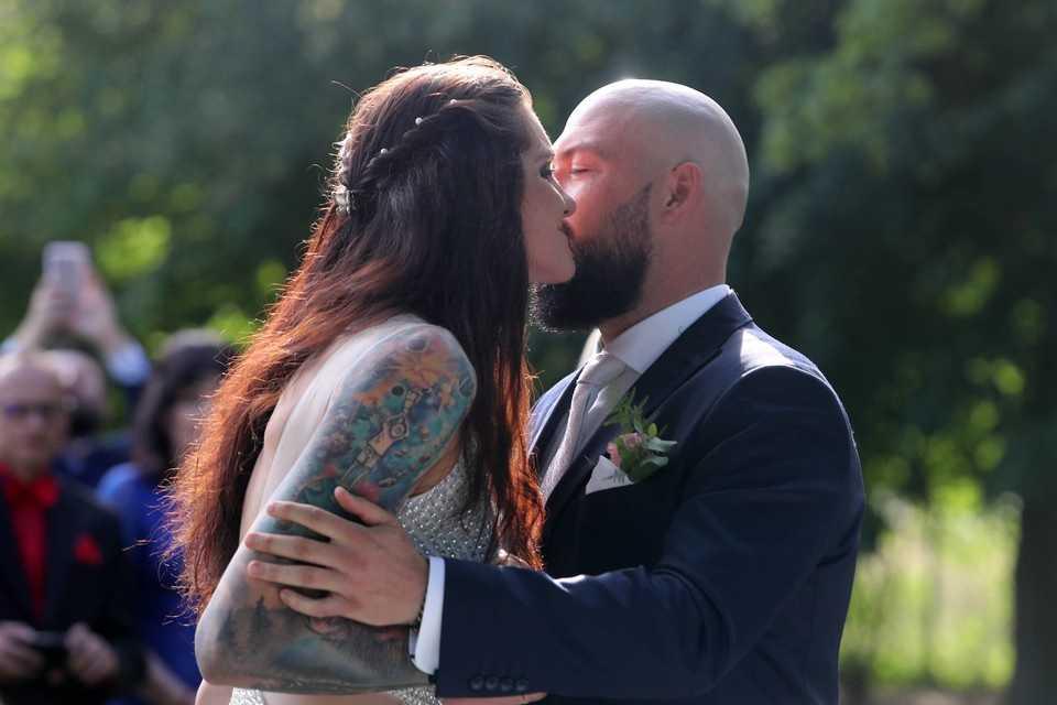 Malwina Smarzek już po ślubie