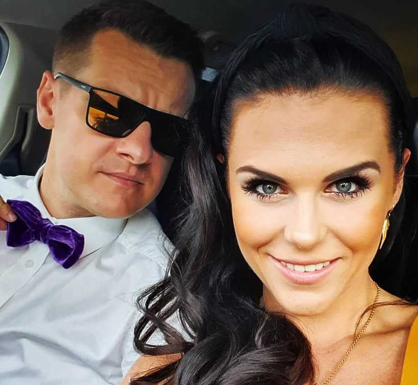 Marcin Mroczek opublikował romantyczne zdjęcie z żoną