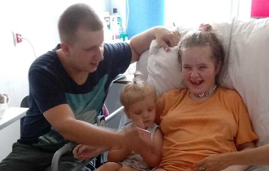 21-letnia Paulina padła ofiarą lekarskiej znieczulicy. Udar omal nie odebrał jej życia