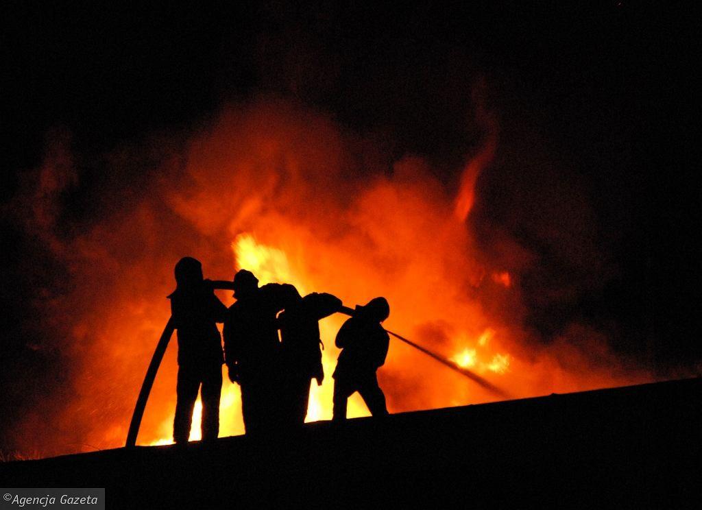 Istebna. Pożar hotelu Złoty Groń. Ewakuowano ponad 30 osób