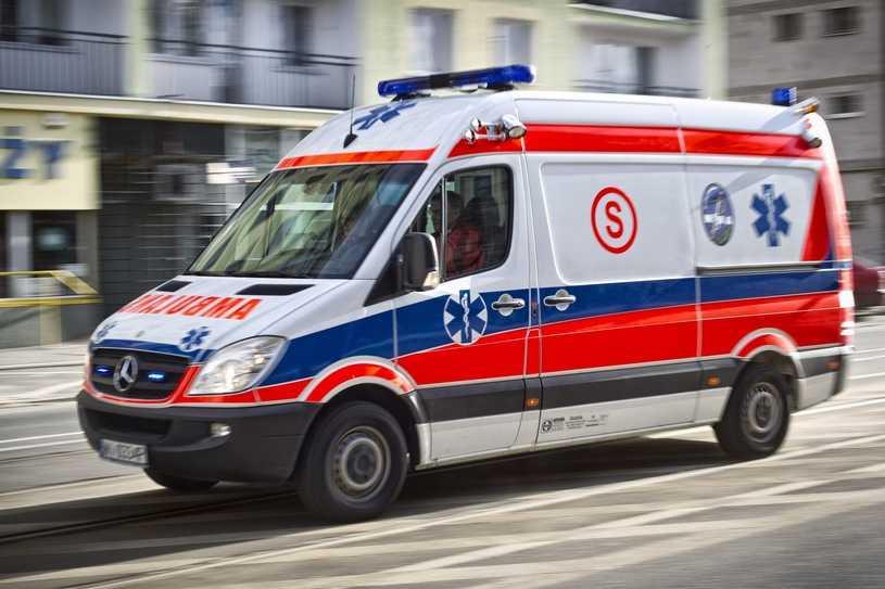 Strzały podczas interwencji policji na Mazowszu. Ranny funkcjonariusz, napastnik nie żyje