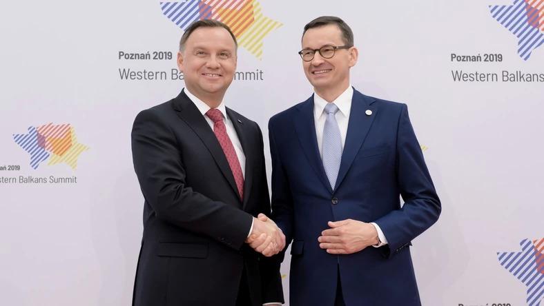 Sondaż IBRiS dla Onetu. Mateusz Morawiecki wyprzedził Andrzeja Dudę w rankingu zaufania
