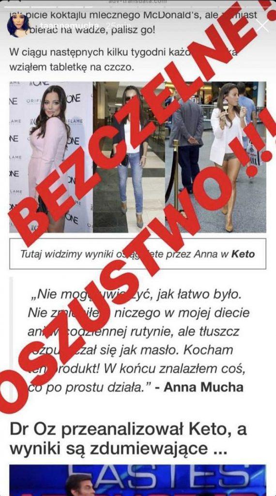 """Zdenerwowana Anna Mucha ostrzega: """"Kochani, błagam was, nie wierzcie w to!"""""""