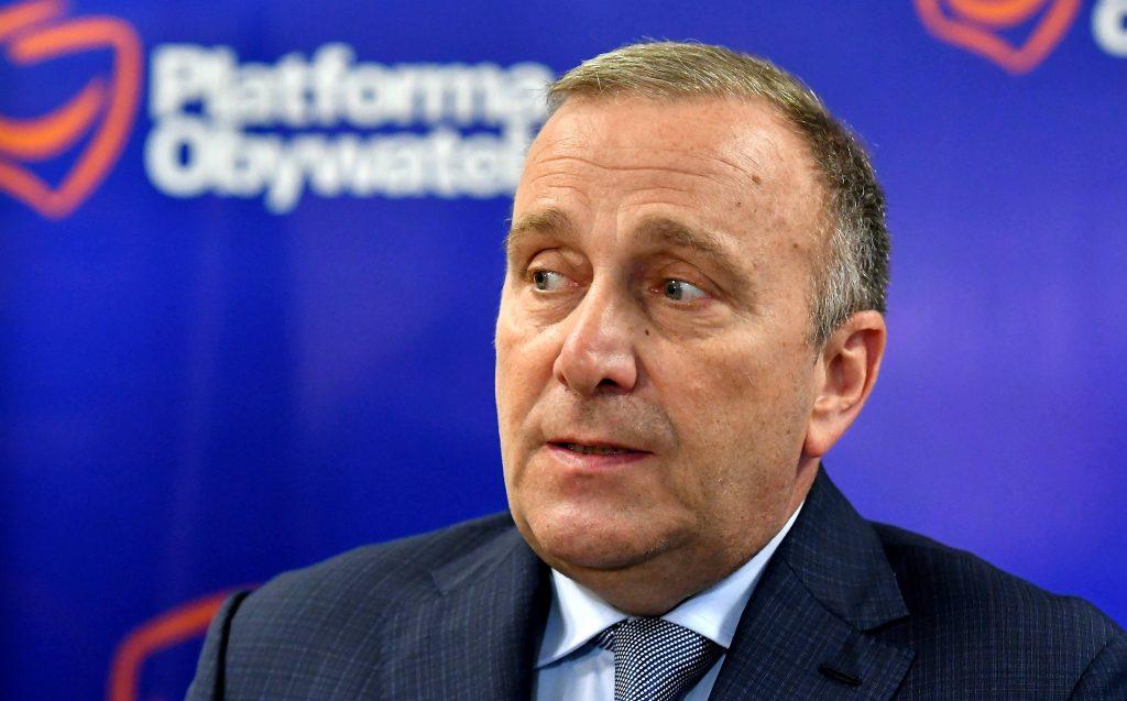 Grzegorz Schetyna komentuje start Iwony Hartwich z list KO