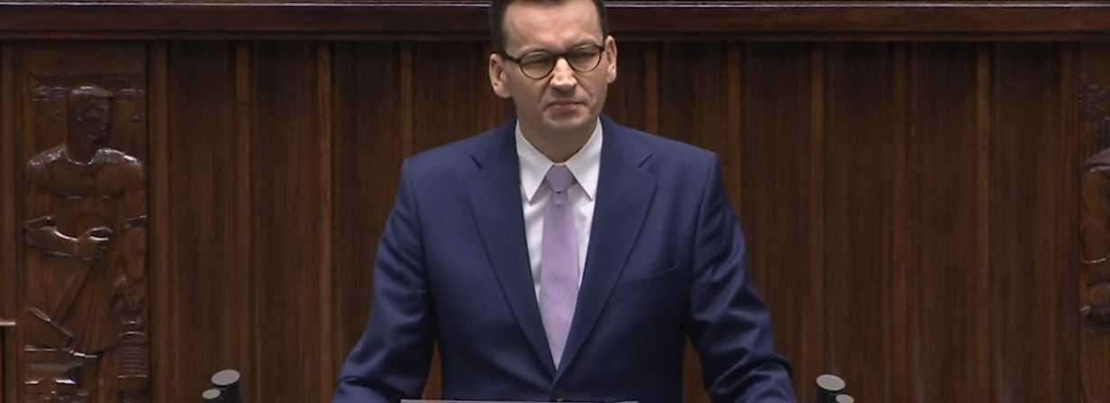 Premier podał datę przedstawienia nowych obostrzeń
