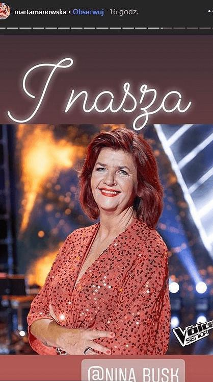 """Marta Manowska zdradziła, kto wystąpi w """"The Voice Senior""""! Fani """"Sanatorium miłości"""" będą zachwyceni"""