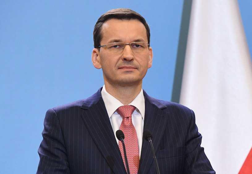 Premier Morawiecki domaga się reparacji od Niemiec