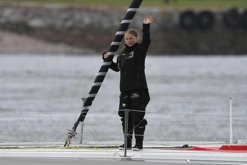 Greta Thunberg wyruszyła z Plymouth do USA