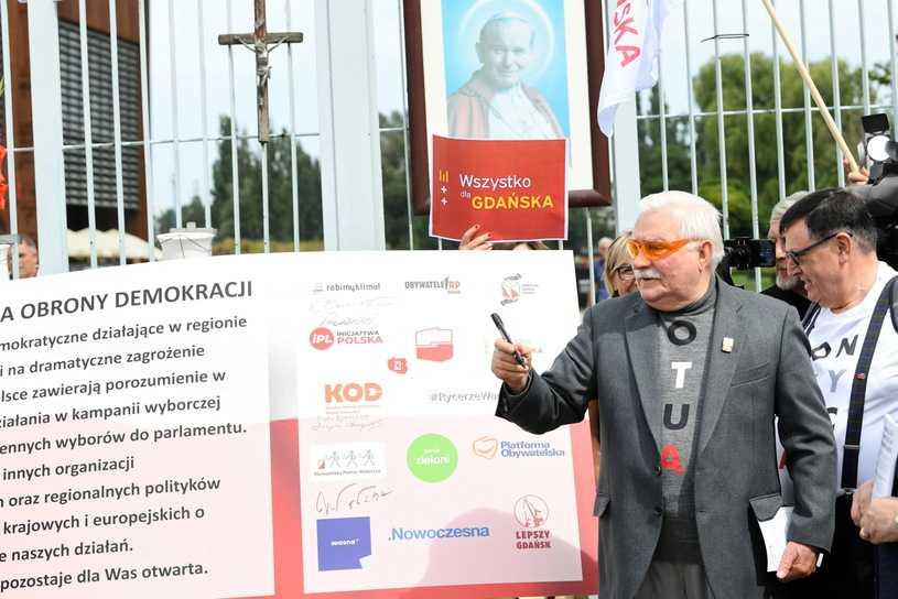 W Gdańsku podpisano Deklarację Obrony Demokracji
