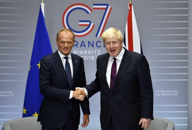 Brexit: Straszak Borisa Johnsona. Dziewięć zamiast 39 mld funtów